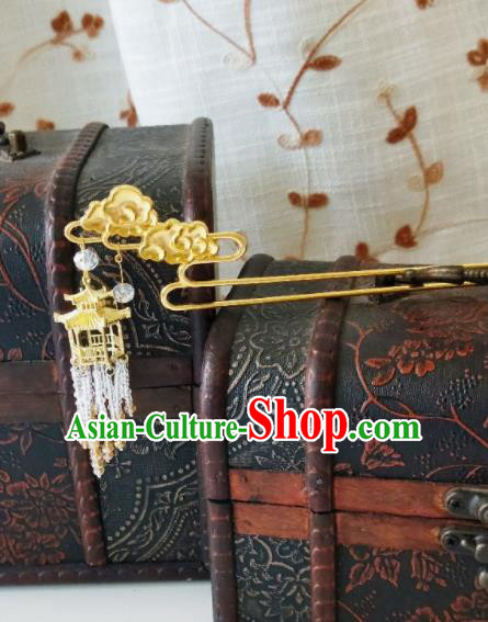 Chinese Ancient Qing Dynasty Hair Accessories Palace Hairpins for Women