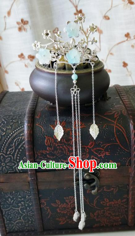 Chinese Ancient Qing Dynasty Hair Accessories Palace Plum Blossom Hairpins for Women