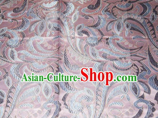 Chinese Traditional Cheongsam Silk Fabric Tang Suit Brocade Classical Cockscomb Pattern Cloth Material Drapery