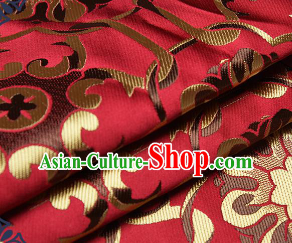 Chinese Traditional Tang Suit Nanjing Brocade Fabric Silk Cloth Cheongsam Material Drapery