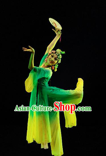 Chinese Traditional Beijing Opera Group Dance Costumes Classical Dance Stage Performance Dress for Women