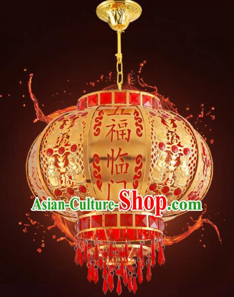 Traditional Chinese Handmade Lantern Red Hanging Lantern Asian Palace Ceiling Lanterns Ancient Lantern
