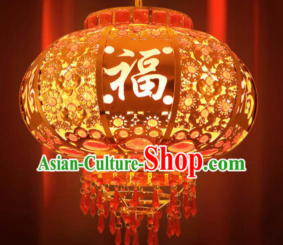 Handmade Traditional Chinese New Year Lantern Hanging Lantern Asian Palace Ceiling Lanterns Ancient Lantern