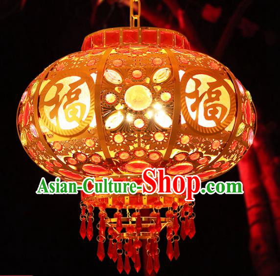 Handmade Chinese Traditional New Year Lantern Hanging Lantern Asian Palace Ceiling Lanterns Ancient Lantern