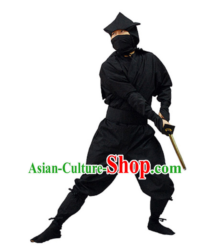 Traditional Japanese Ninja Costume Shinobi Suit Ninjago Costume Japan Ninja Costumes Fighter Ninjas Costumes Suits Complete Set for Women
