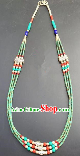Chinese Handmade Hanfu Palace Hairpins Green Beads Hair Clasp Traditional Ancient Princess Hair Accessories for Women