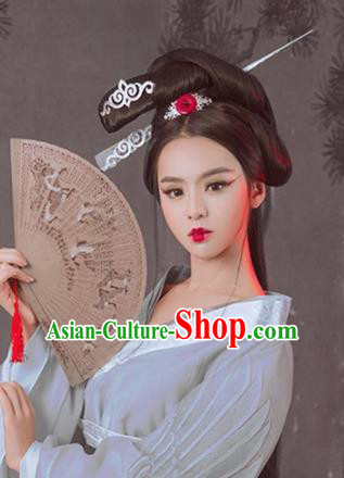 Handmade Chinese Palace Hair Clips Princess Hairpins Ancient Traditional Hanfu Hair Accessories for Women