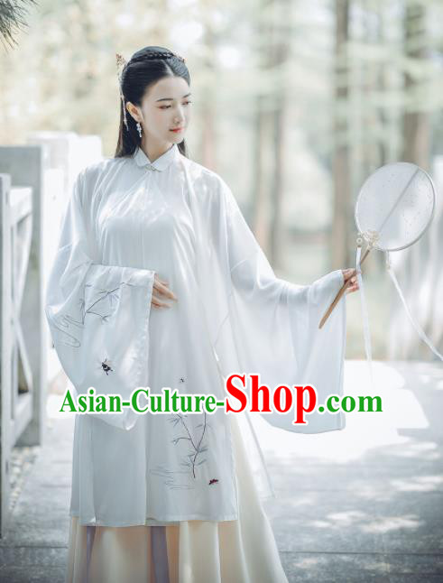 Chinese Ancient Rich Lady Hanfu Dress Traditional Drama Ming Dynasty Nobility Historical Costume for Women