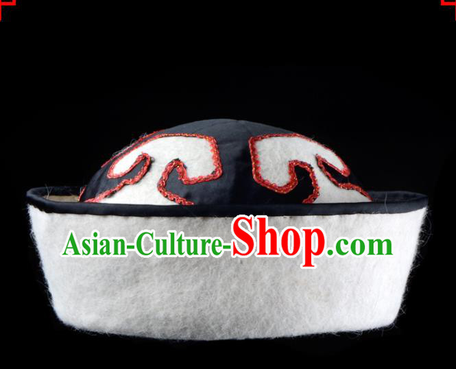 Chinese Handmade Beijing Opera General Helmet Traditional Ancient Military Officer Hat for Men