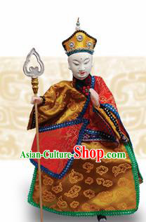 Chinese Traditional Monk Tang Marionette Puppets Handmade Puppet String Puppet Wooden Image Arts Collectibles